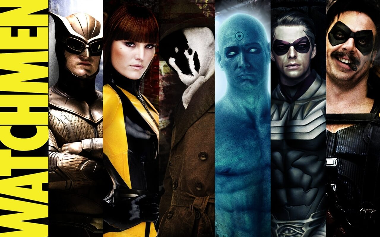 best superhero movies - watchmen (1)