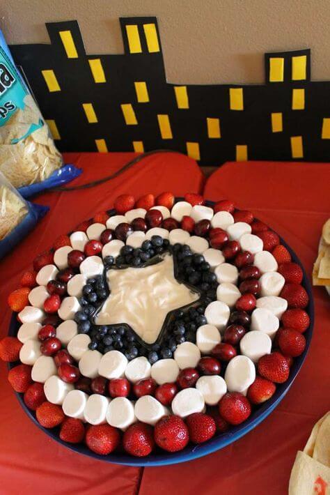 superhero cake - captain america cake (1)