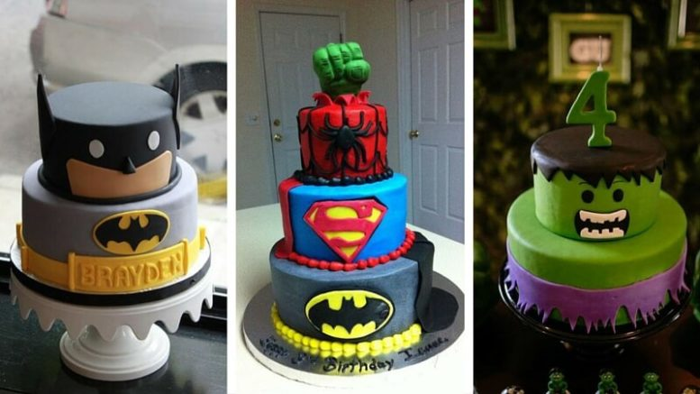 21 Superhero Cake Designs That Will Destroy Any Villain With Their