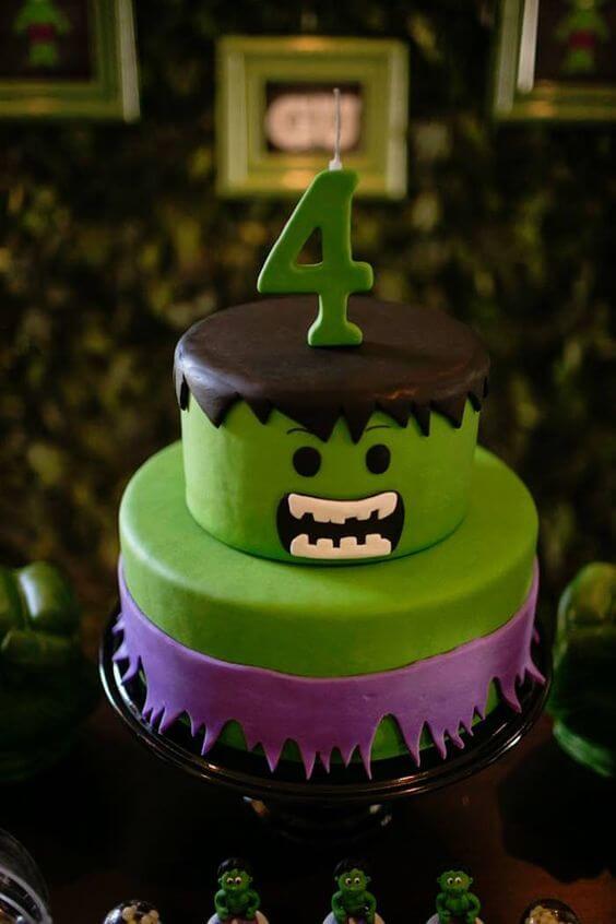 superhero cake - hulk cake (1)