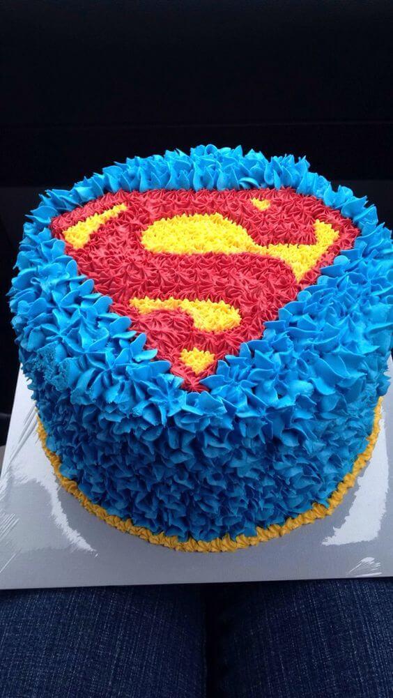 superhero cake - superman cake (1)