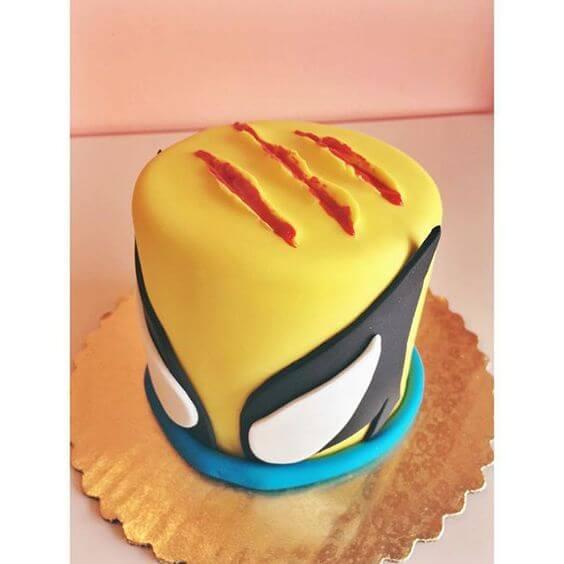 superhero cool cake - wolverine cake 2 (1)