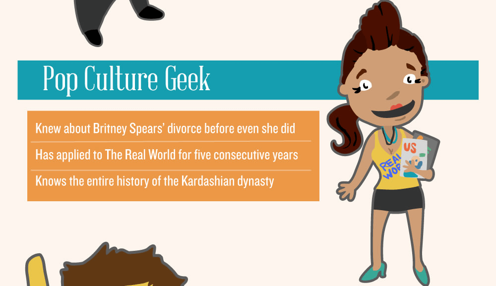types of geeks - pop culture (1)