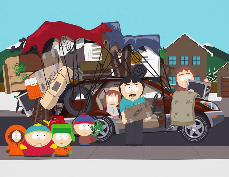 best south park episodes - over lodging