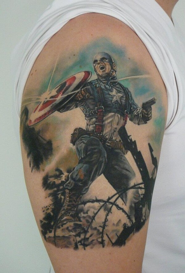 captain america tattoo 13 (1)