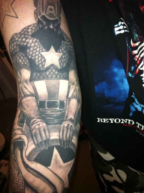 captain america tattoo 37 (1)
