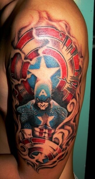 captain america tattoo 43 (1)