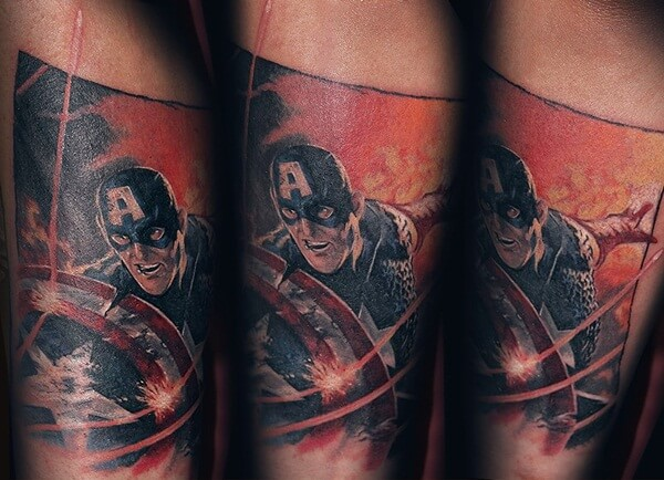 captain america tattoo 6 (1)