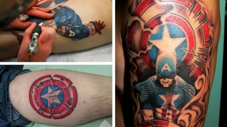 The Ultimate Collection Of Captain America Tattoos