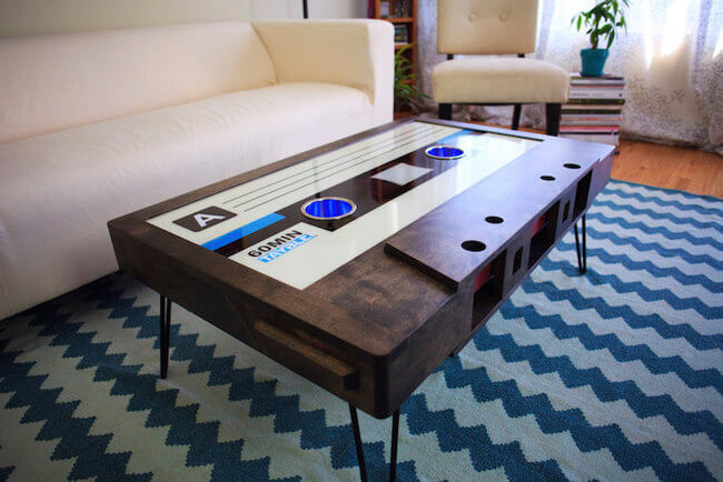 cassette coffee table 10
