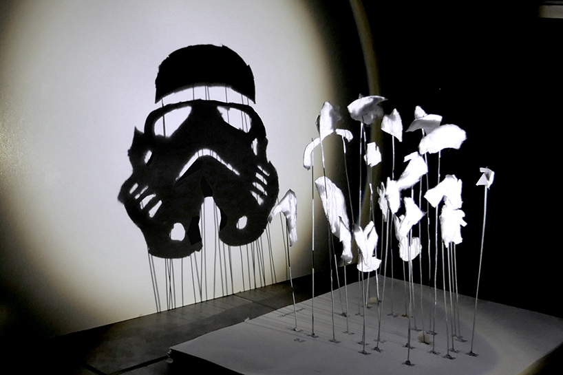 star wars fan art - shadow art by red hong yi 6