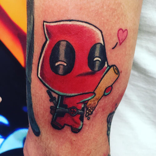 deadpool tattoo 42 (1)