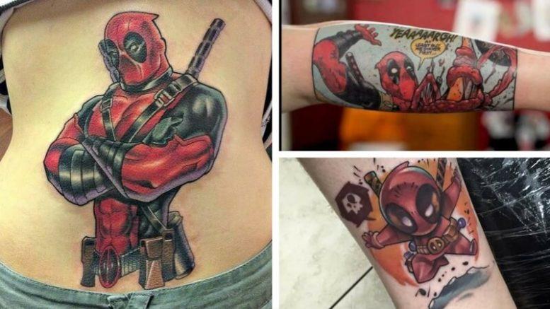 The Best Deadpool Tattoo Designs On The Internet