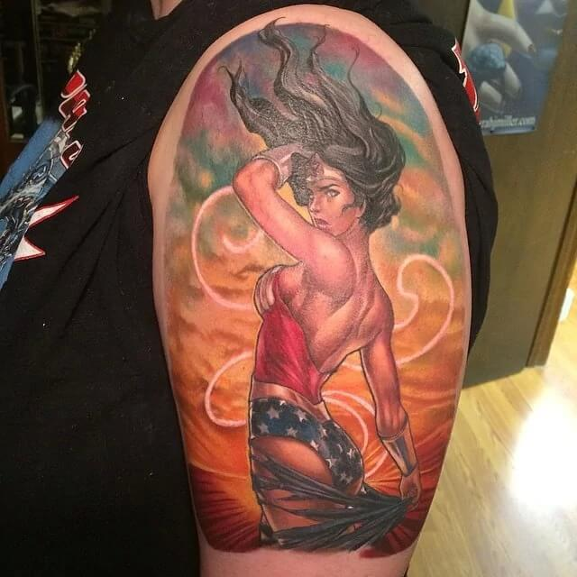 wonder woman tattoo 13-1