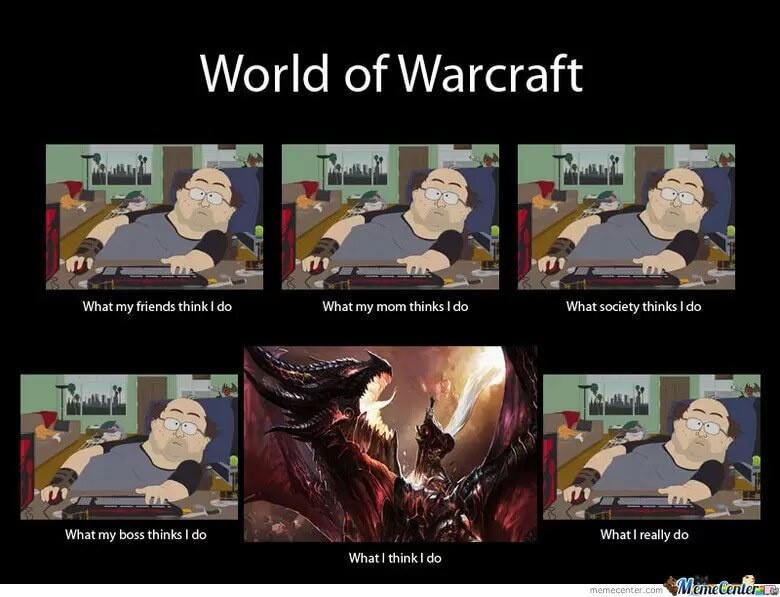 The Ultimate Collection Of World Of Warcraft Memes