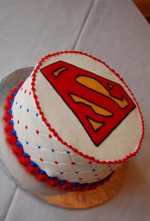 superman cake 24-1