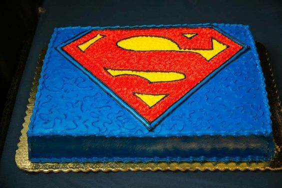 Superman Birthday Cake Singapore