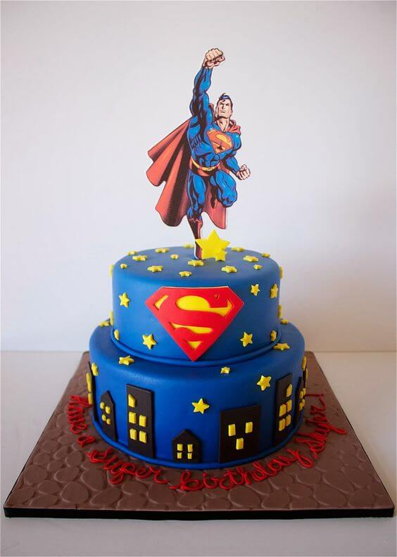 23 Superman Cake Ideas You Should Use For Your Next Birthday