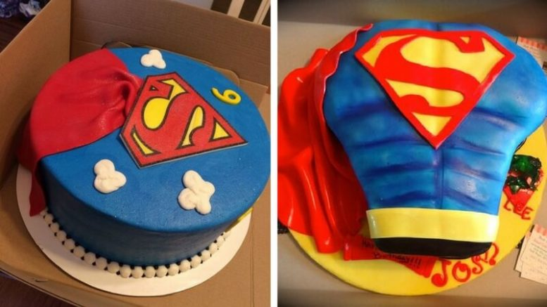 Superhero Birthday Cakes Images