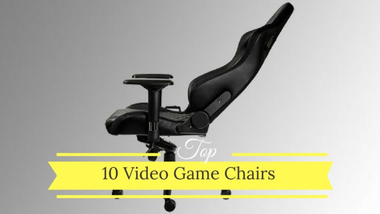 Terrific Top 10 Video Game Chair Brands For The Ultimate Gamer Gamerscity Chair Design For Home Gamerscityorg