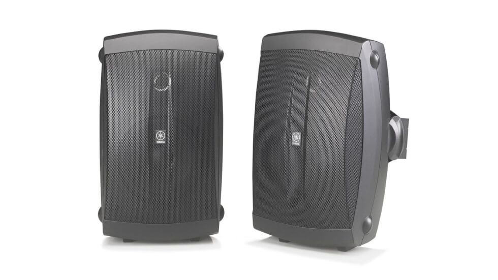 wireless outdoor speakers - Yamaha NS-AW150BL