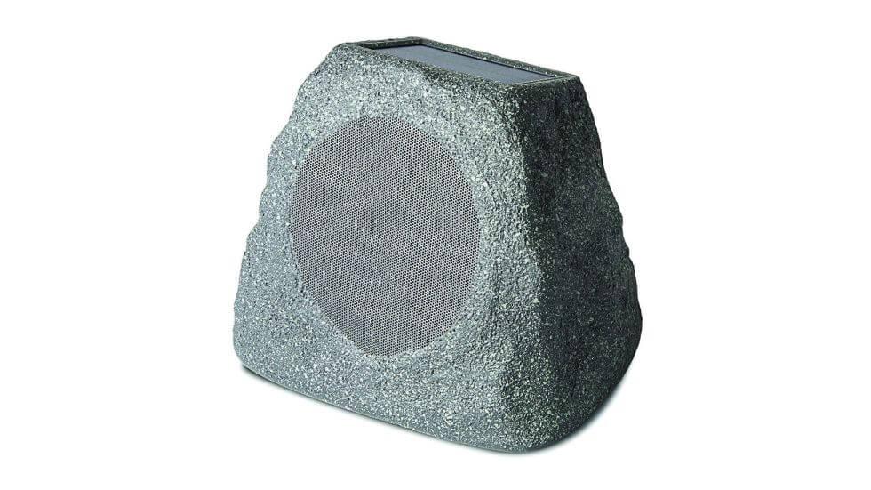 wireless outdoor speakers - ION Audio Solar Stone