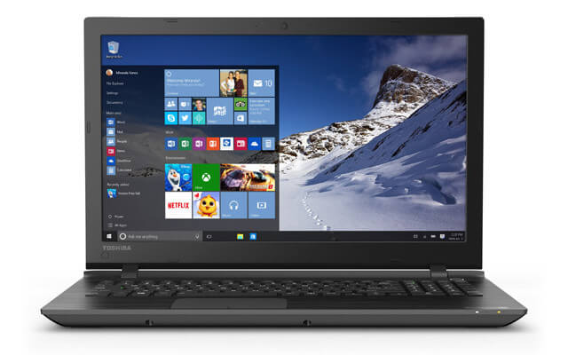 Toshiba Windows 10 Laptop Satellite C55-C5379