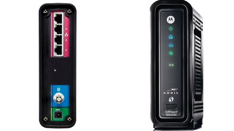AURRIS SURFBOARD - best modem router combo