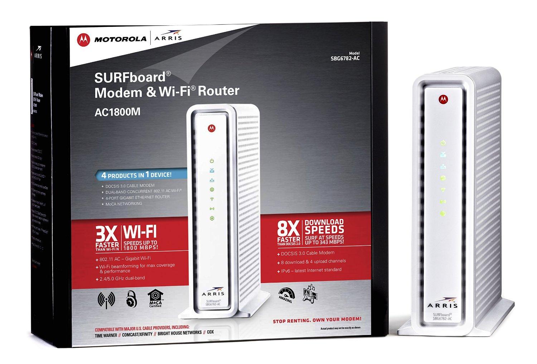 AURRIS SURFBOARD AC1800 - modem router