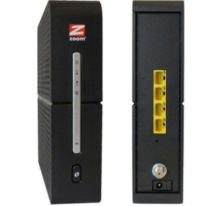 ZOOM - cable modem router combo