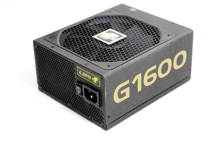 Lepa G Series 1600W - best power supply for gaming