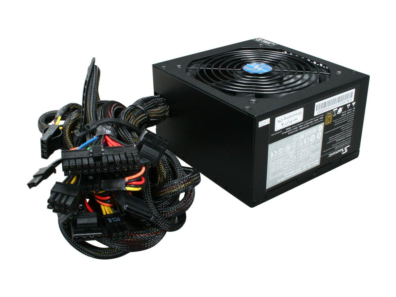 SeaSonic S12II 520 watt - best power supply for gaming