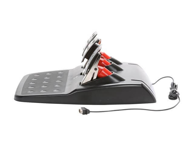 Logitech Racing Wheel - pedals side view