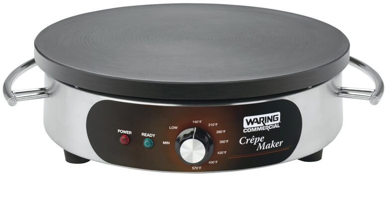 Waring Commercial WSC160 Heavy-Duty Commercial Electric best Crepe Makers