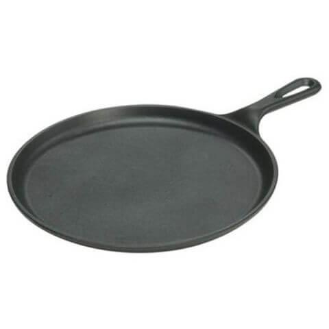 Lodge Pre-Seasoned Cast Iron Round Griddle