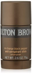 MOLTON BROWN RE-CHARGE BLACK PEPPER ANTIPERSPIRANT STICK,2.6 FL.OZ