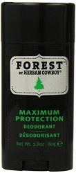 Herban Cowboy Forest Maximum Protection Deodorant