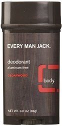 Every Man Jack Cedarwood Deodorant - best deodorant for men
