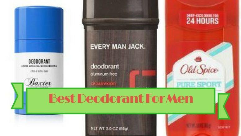 10 Best Deodorants For Men And Recommended Antiperspirants