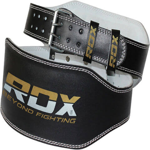 RDX Leather 6-Inch Weight Lifting Belt