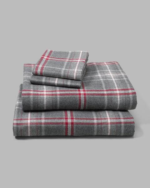Eddie Bauer Portuguese Flannel Sheet Set - best flannel sheets