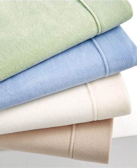 Martha Stewart Collection Bedding, Microfleece Sheet Sets