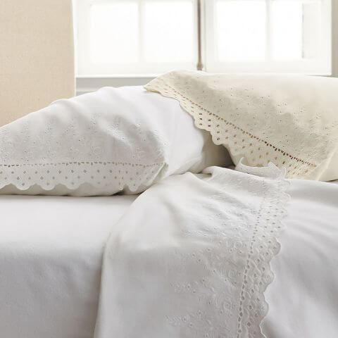 The Company Store Velvet Lace Flannel Bedding