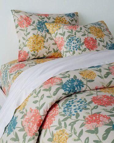 Garnet Hill d'Orsay Floral Signature Flannel Bedding