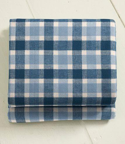 L.L. Bean Ultrasoft Comfort Flannel Sheet