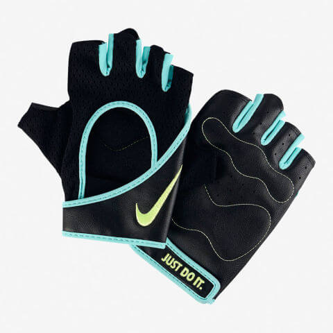 Nike Perforated Wrap Women's Training Gloves - best weight lifting gloves item #1
