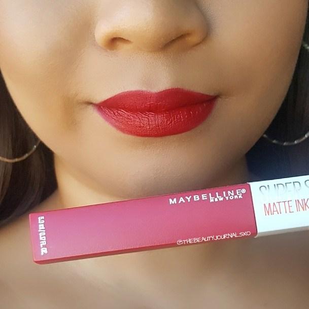Maybelline Superstay Matte Ink Liquid Lipstick in Lover