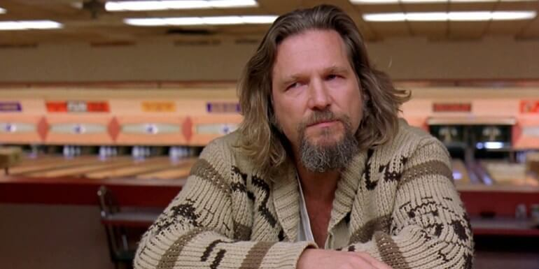 The Big Lebowski (1998) - best movies to watch drunk top choice.