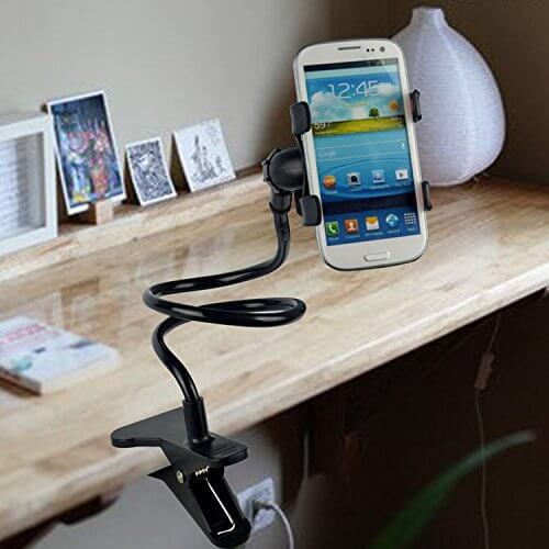 Lazy Bed Table Phone Holder Rotatable Mobile Phone Holder